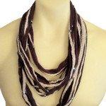 scarf neutral colour