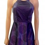 Dolly purple dress