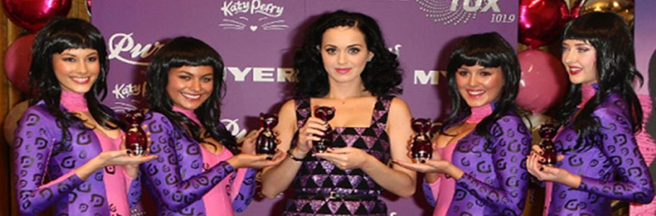 Made to Measure-Katy Perry\'s fragrance Launch
