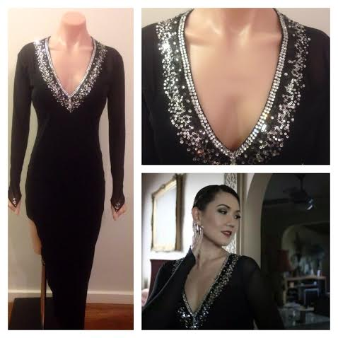 Yetti 's blk zamba dress collage2